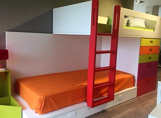 Camas y literas compactas muebles pulido decoracion e for Outlet muebles hogar y decoracion madrid