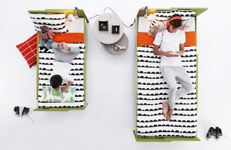 La cama que da el estirón con tus hijos.