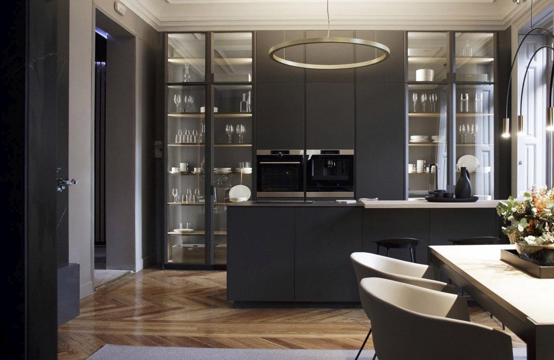 La cocina que se funde con el resto del hogar, el nuevo concepto de vivienda actual. Cocina Dica.