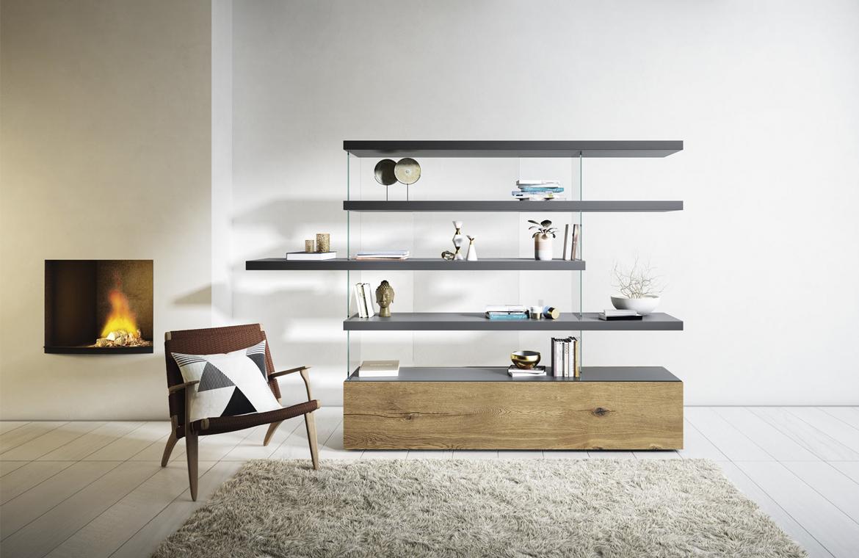 Llena tu casa de inspiración con una librería.