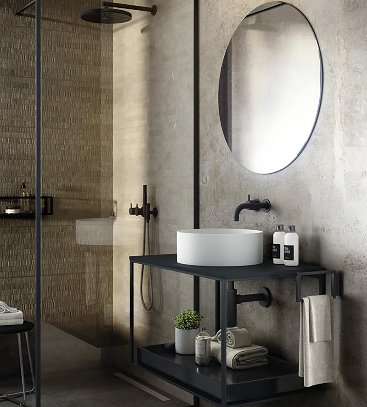 Al encuentro con la innovación en baños. Colección Grid Evo.