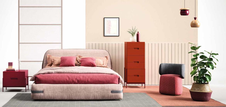 Un dormitorio para cada personalidad. La cama Tape es sinónimo de confort.