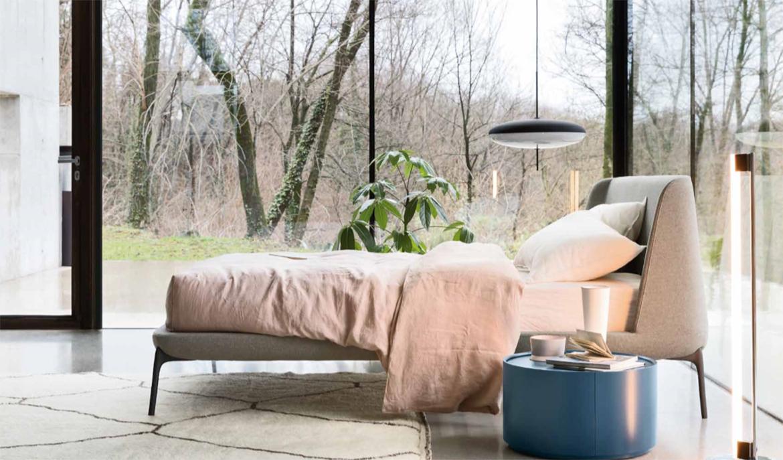 Un dormitorio para cada personalidad. Hablar de la cama Velvet es hablar de ligereza y elegancia.