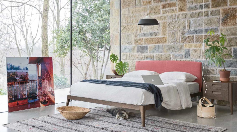 Un dormitorio para cada personalidad. La cama Siri, un diseño limpio y funcional.