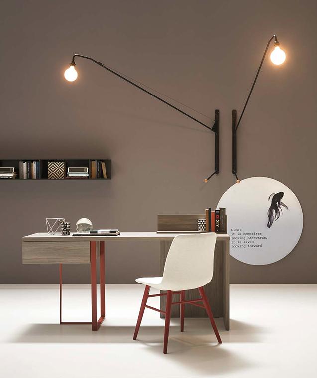 Decora tu estudio con estilo. Modelo Desk de la serie About Day Mod.