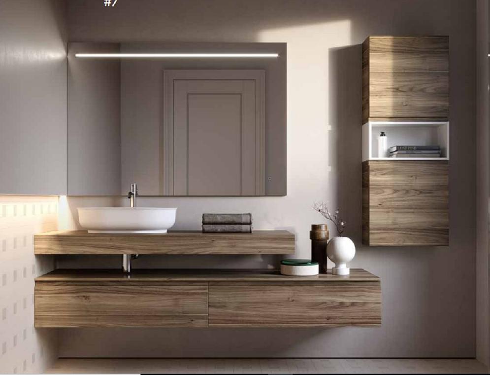 Un baño contemporáneo para empezar el 2019. Colección Form.