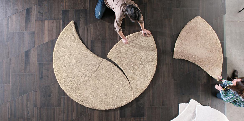Las mejores alfombras de Lago. Modelo Plet.